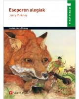 Esoporen alegiak liburua - Jerry Pinkney - Karrikiri Euskal Denda