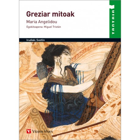 Greziar mitoak liburua - Maria Angelidou - Karrikiri Euskal Denda