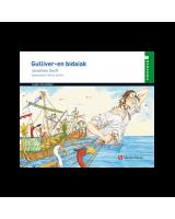 Gulliverren bidaiak liburua egokituta - Jonathan Swift - Karrikiri